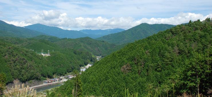 岐阜県でいちばん小さな村